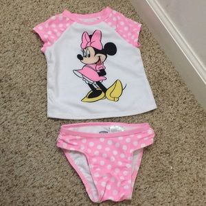 Old navy baby girl two piece swimsuit!